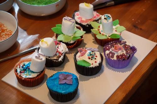Udvalgte cupcakes