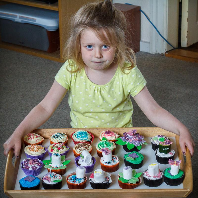 Mika og hendes cupcakes