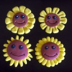 Glade solsikker