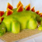 Stegosaurus fødselsdagskage