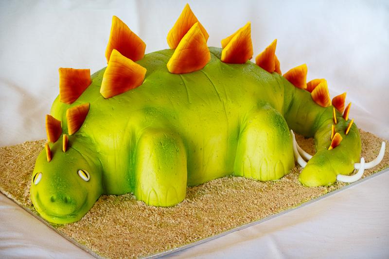 3D Dinosaurus kage