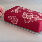 Pensel broderi med royal icing