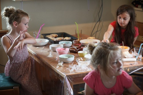 Cupcakepynteri med Døgg, Helena og Mika