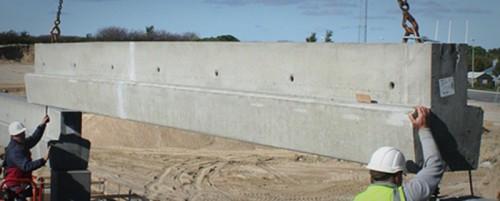 Spæncom beton bjælke