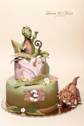 Dinosaurus kage