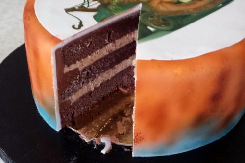 Dumle Bumle kagen skåret