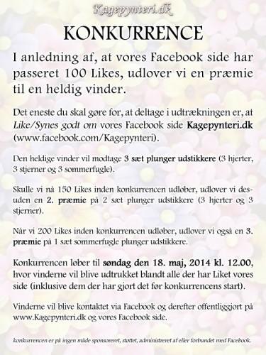 Facebook konkurrence maj 2014