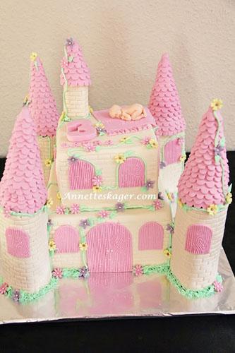 Annettes kager - Dåbs og fødselsdagskage