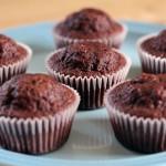 Opskrift på chokolade cupcakes