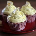 Opskrift på citron cupcakes med citron guf