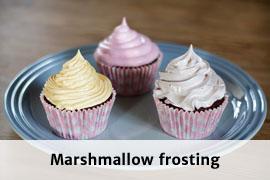 Link til marshmallow frosting opskrift