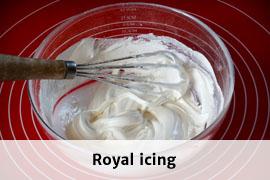 Link til royal icing opskrift
