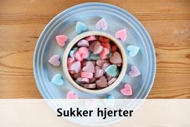 Link til Sukker hjerter opskrift